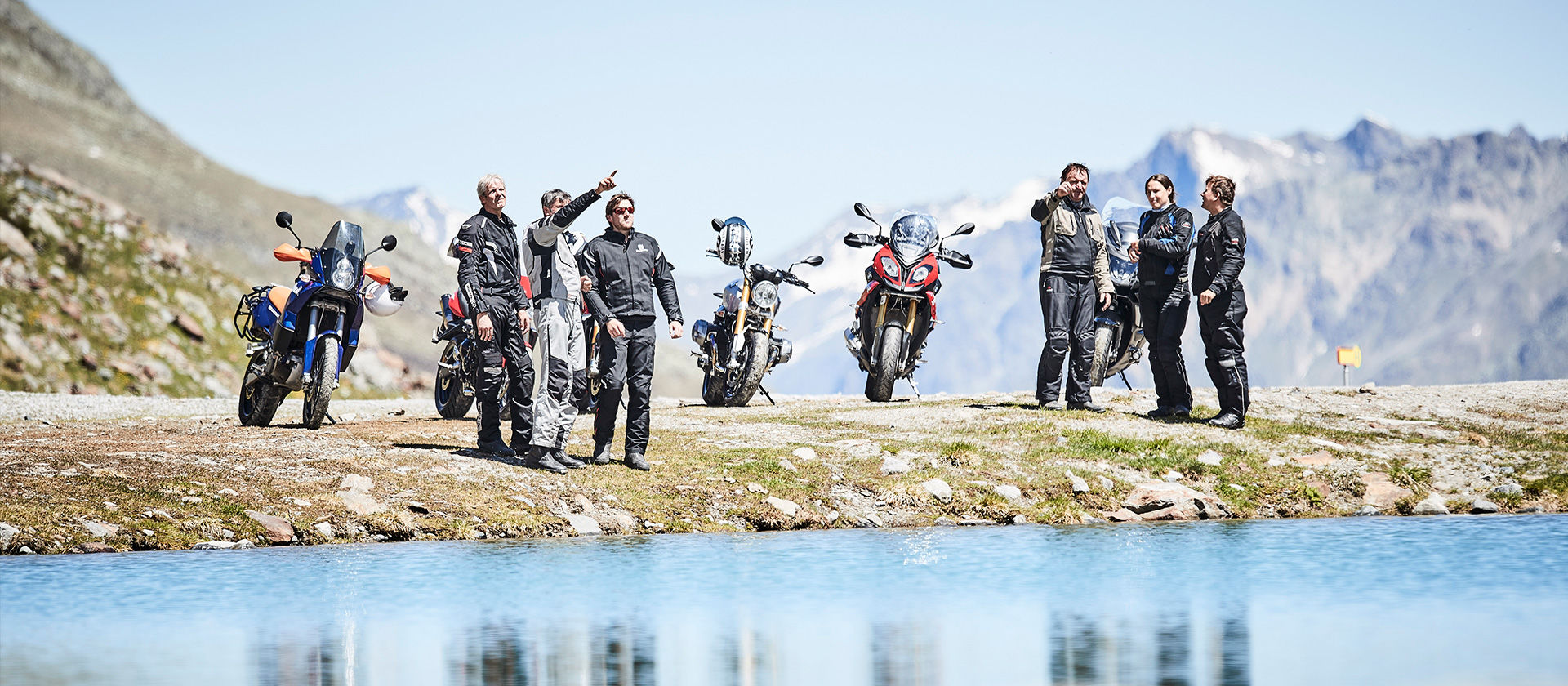 Motorrad im Kaunertal - Foto: Kaunertaler Gletscher