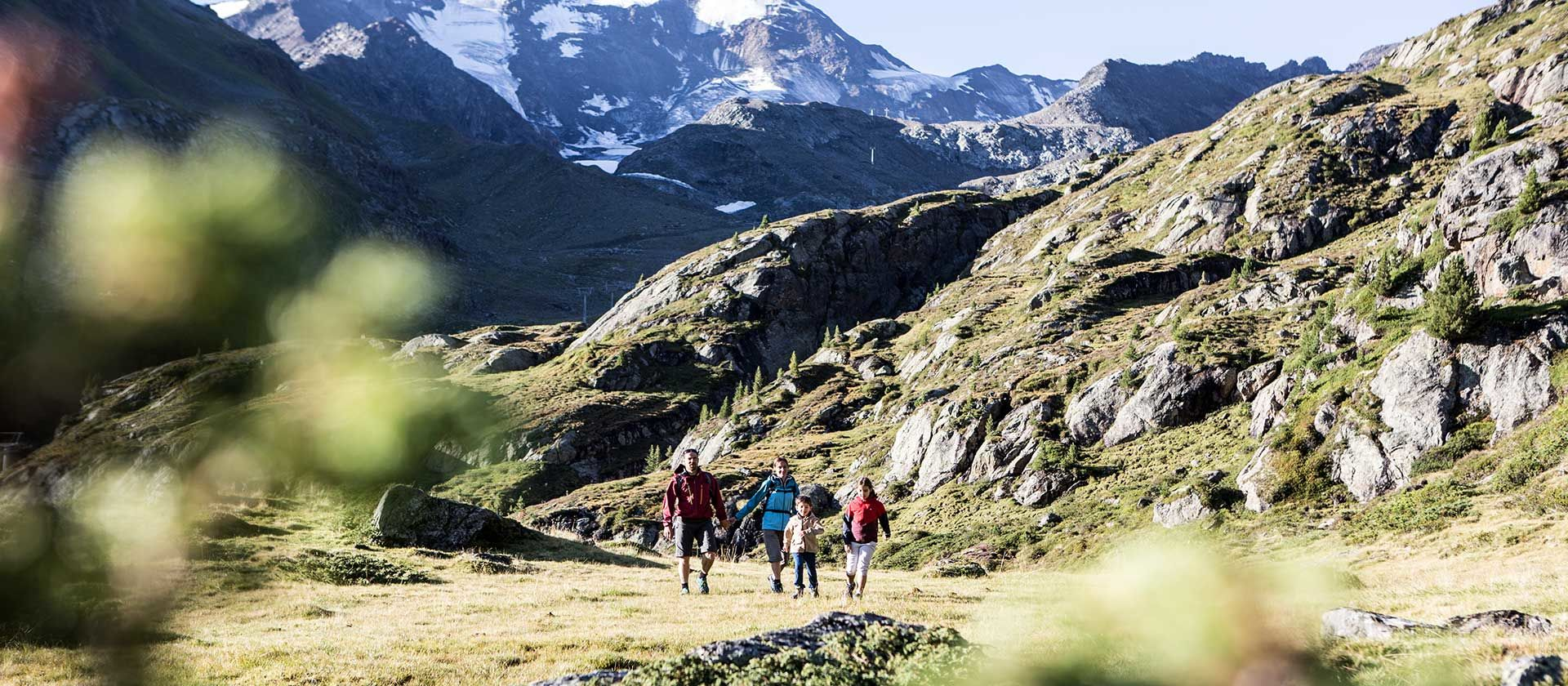 Wandern im Kaunertal Foto: Kaunertaler Gletscher, Daniel Zangerl