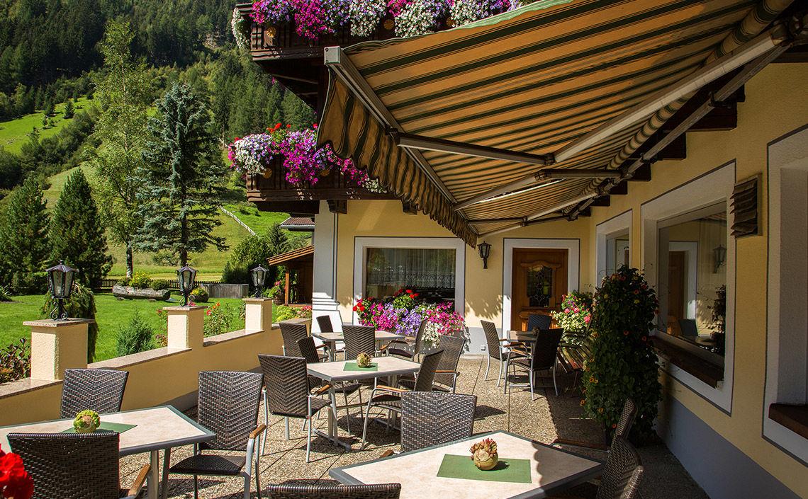 Hotel Jägerhof, Sonnenterrasse