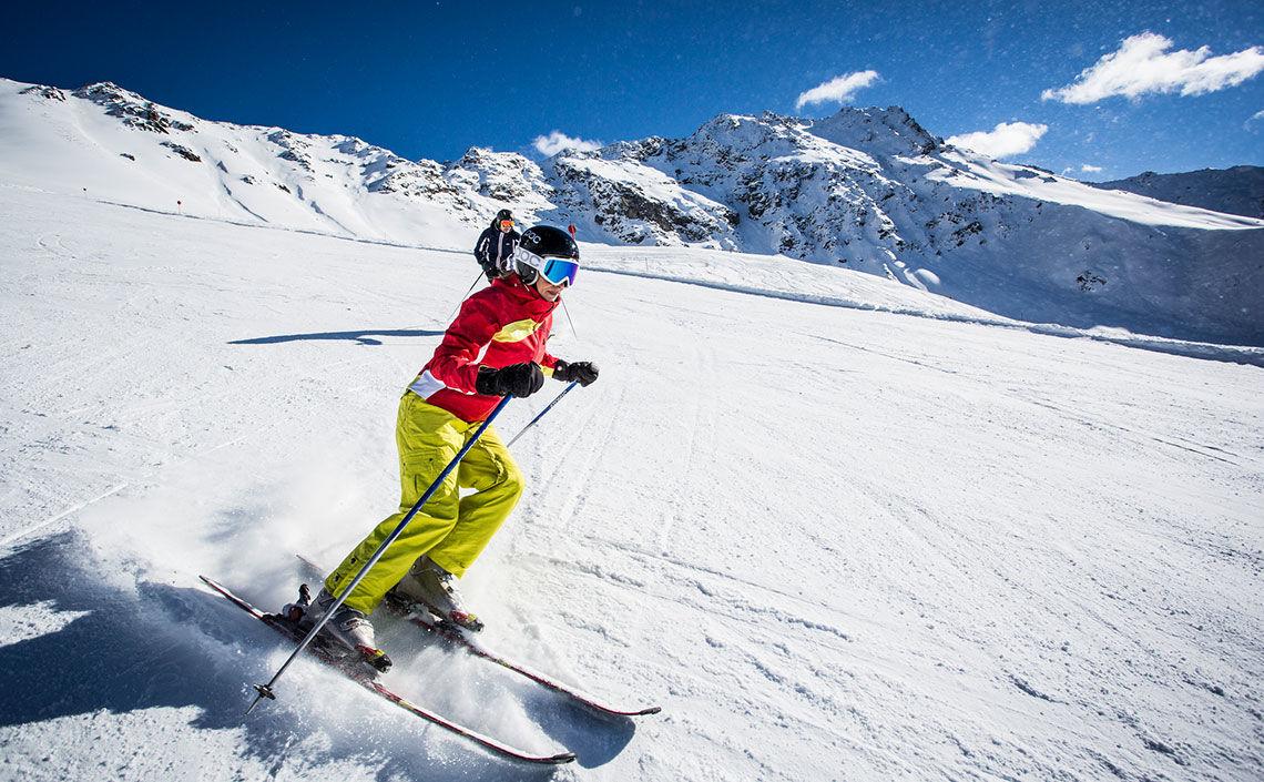 Skigebiet Fendels - Foto: Kaunertaler Gletscher, Daniel Zangerl