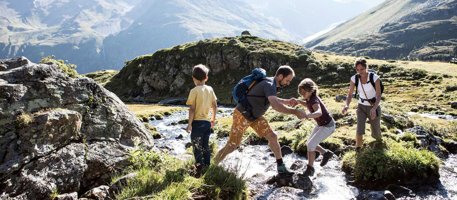 Wandern im Naturpark - Foto: Kaunertaler Gletscher, Daniel Zangerl