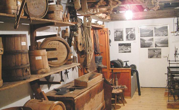 Talmuseum Kaunertal Einblicke in die Geschichte