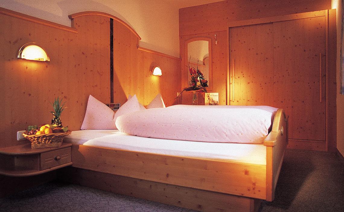 UNTERHÄUSER Doppelzimmer im Hotel Jägerhof in Feichten