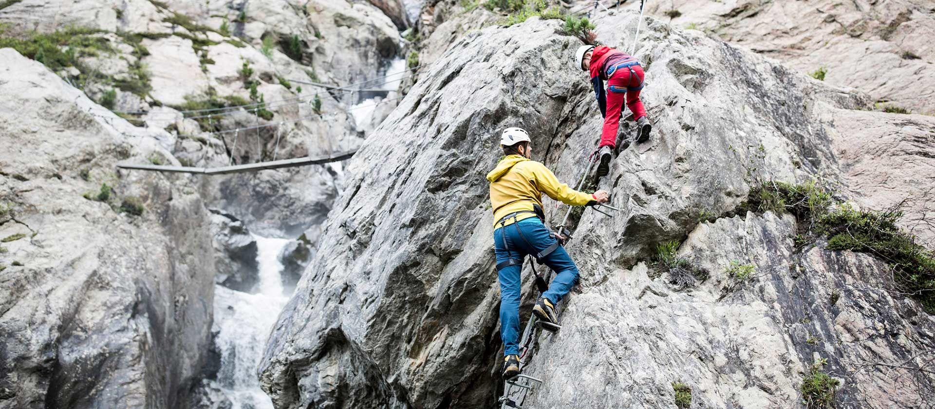 Klettern Foto: Kaunertaler Gletscher, Daniel Zangerl
