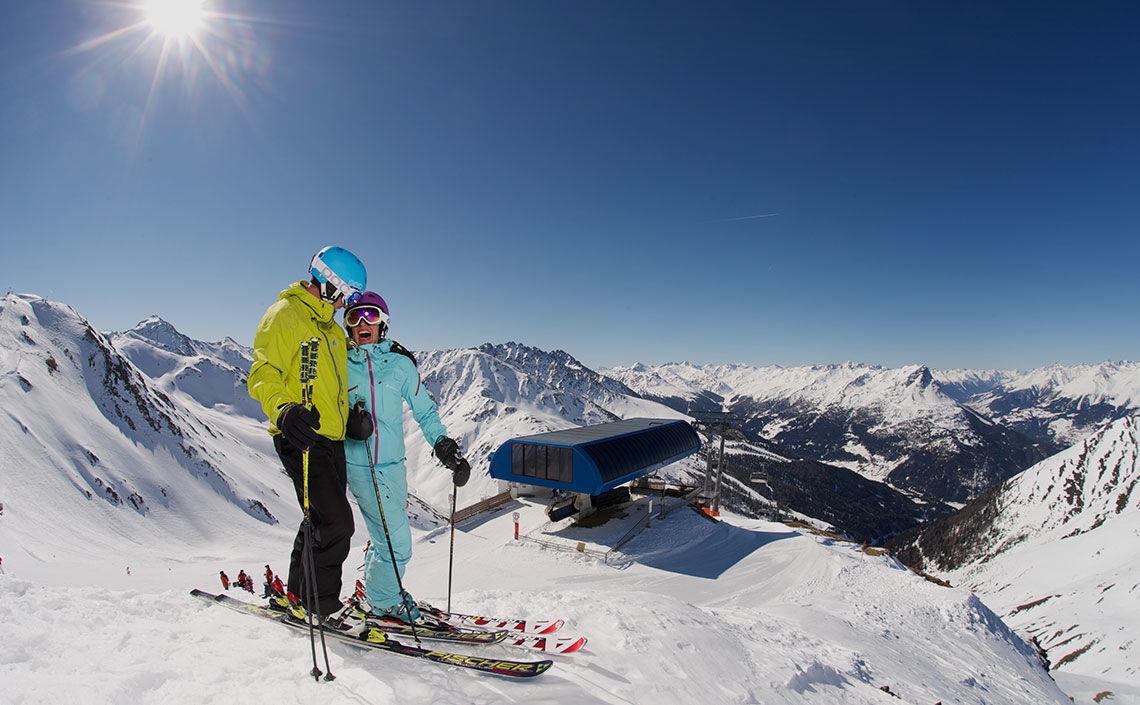 Skigebiet Nauders - Foto TVB Nauders