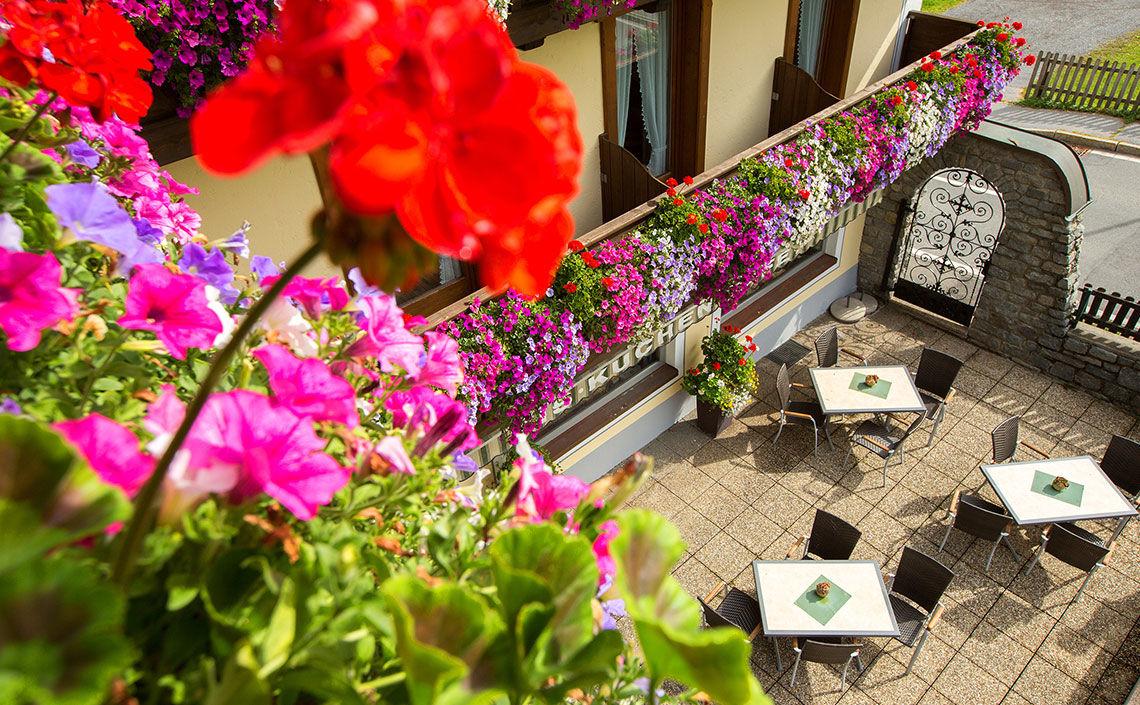 Restaurant im Hotel Jägerhof im Kaunertal
