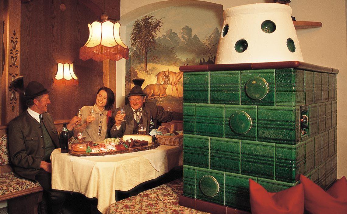 Jägerstube im Hotel Jägerhof in Feichten