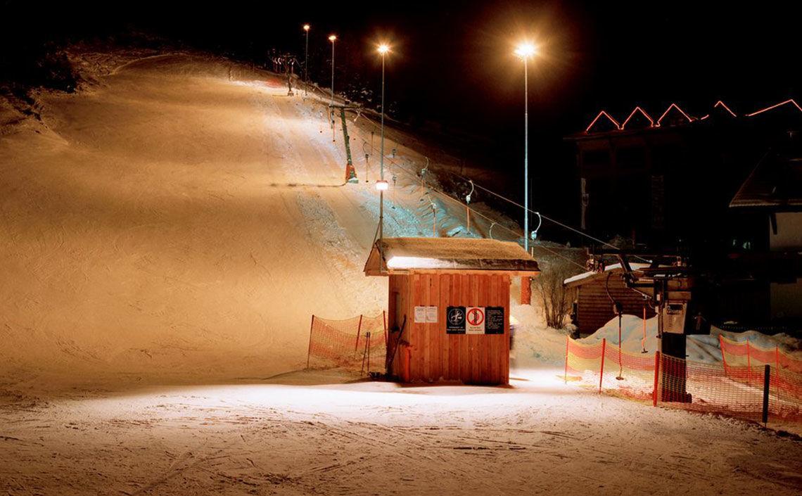 Nachtskilauf Dorflicht Feichten, Foto TVB Kaunertal Martin Larcher