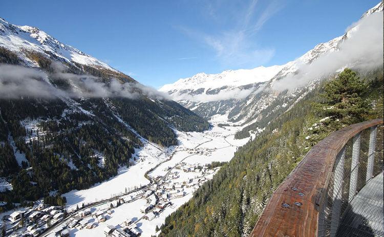 Winterwanderweg  Aussichtsplattform Adlerblick