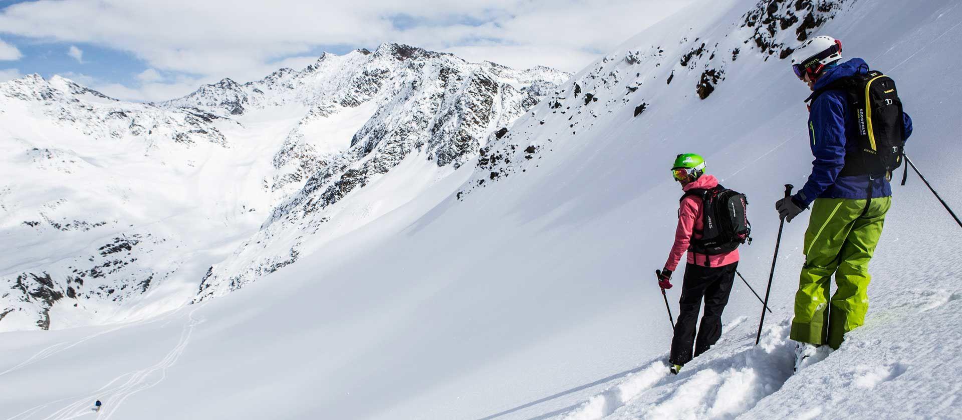Skifahren im Kaunertal- Foto Kaunertaler Gletscher Daniel Zangerl