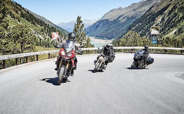 Gletscherstraße Unterwegs mit dem Motorrad