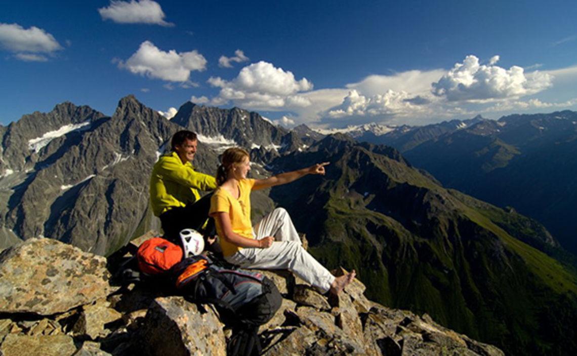 Bergsteigen im Kaunertal, Foto TVB Kaunertal