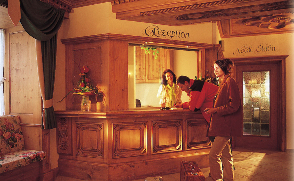 Hotel Jägerhof Rezeption, Foto Hotel Jägerhof