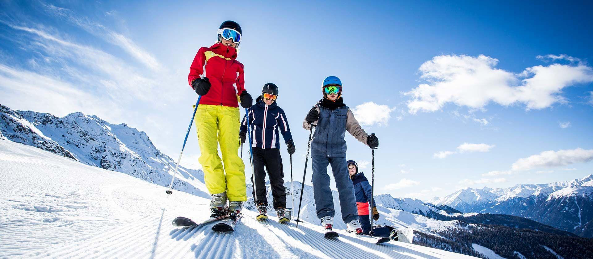 Skifahren im Kaunertal- Foto: Kaunertaler Gletscher Daniel Zangerl