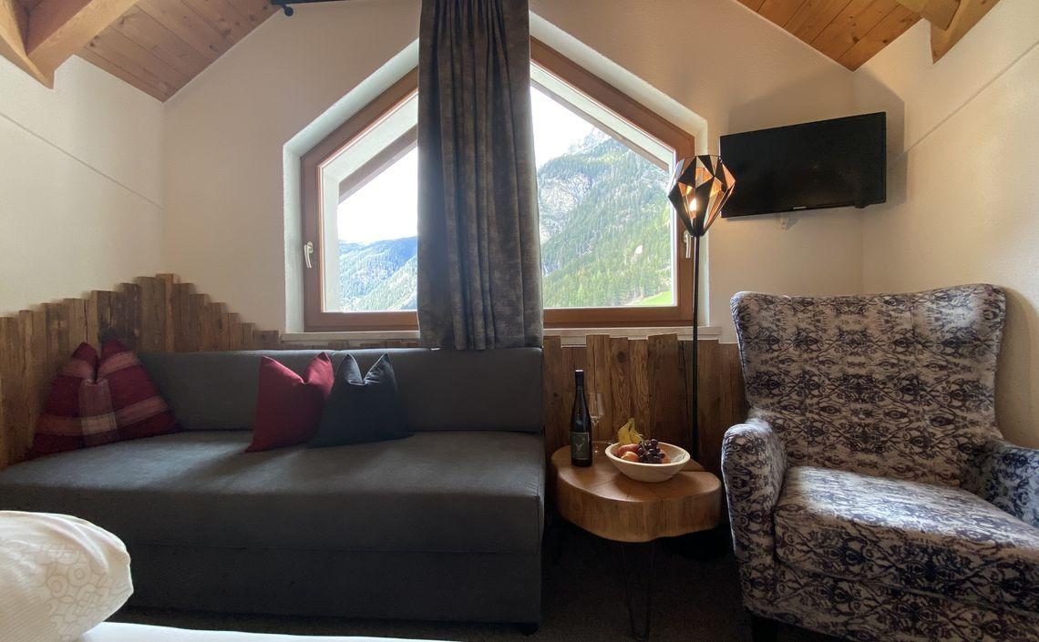 Bergblick Doppelzimmer ca. 20 m²